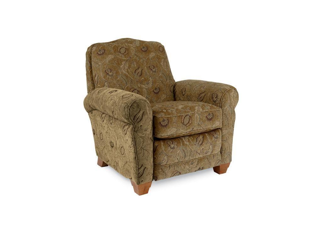 La Z Boy Living Room Low Profile Recliner 25467   I. Keating Furniture
