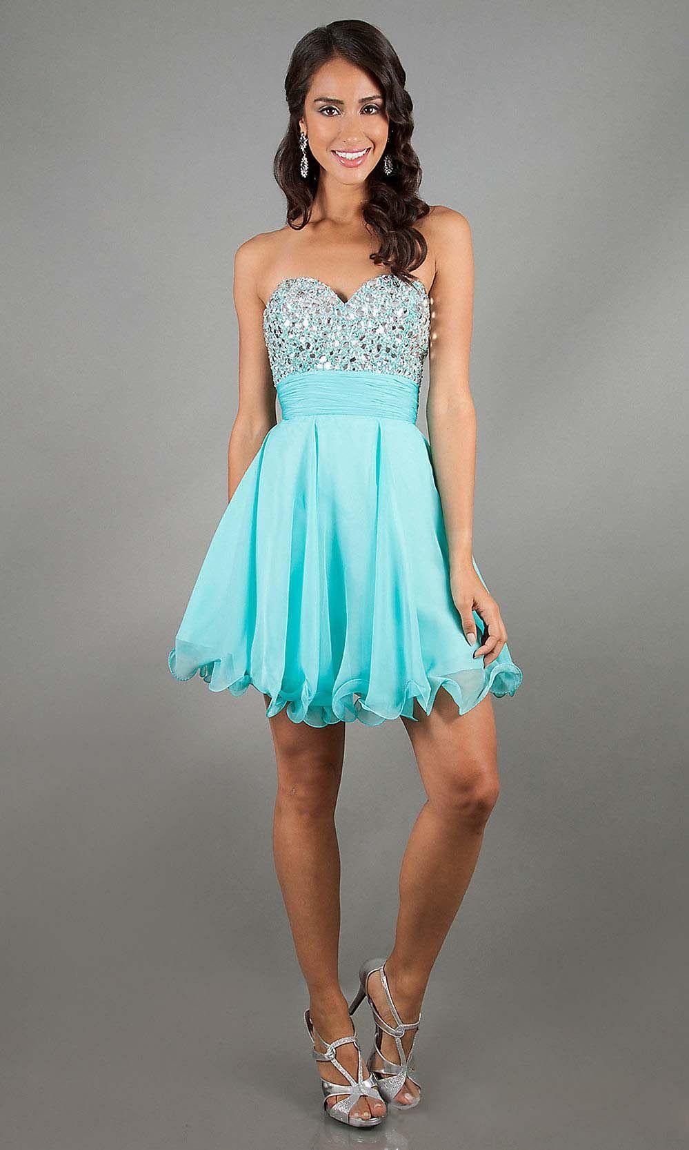 Okbridaldress tiffany blue prom dress affordable prom dresses