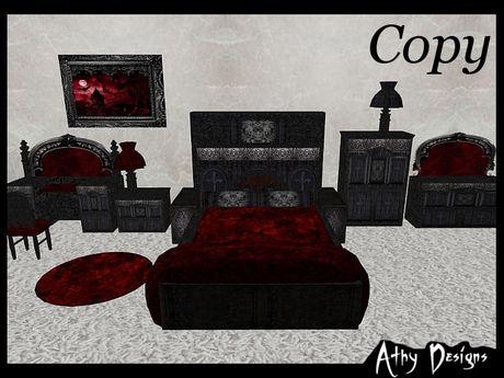 Gothic Schlafzimmer ~ Gothic furniture haunt my house pinterest