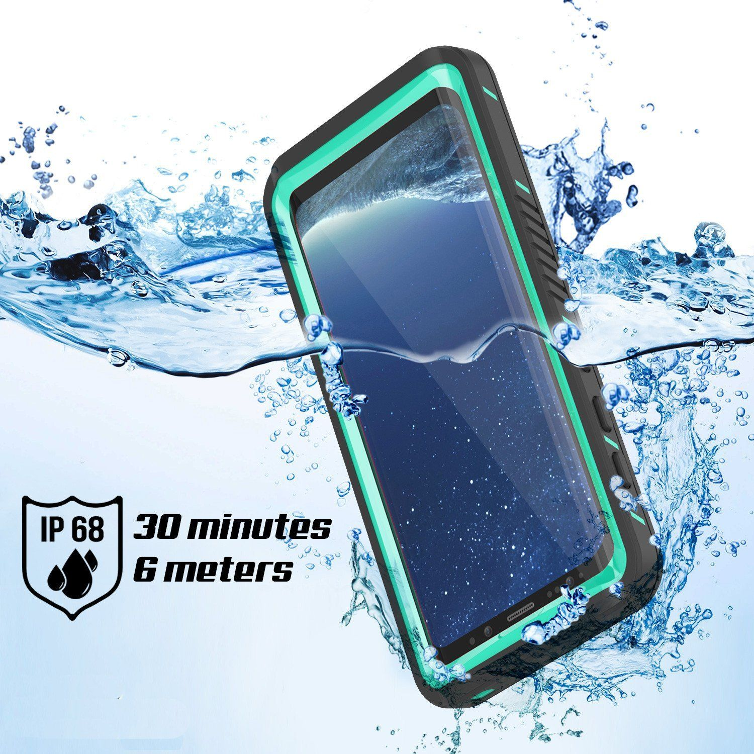 pretty nice 1f95b 95cc3 Galaxy S8 Waterproof Case, Punkcase [Extreme Series] Slim Fit with ...