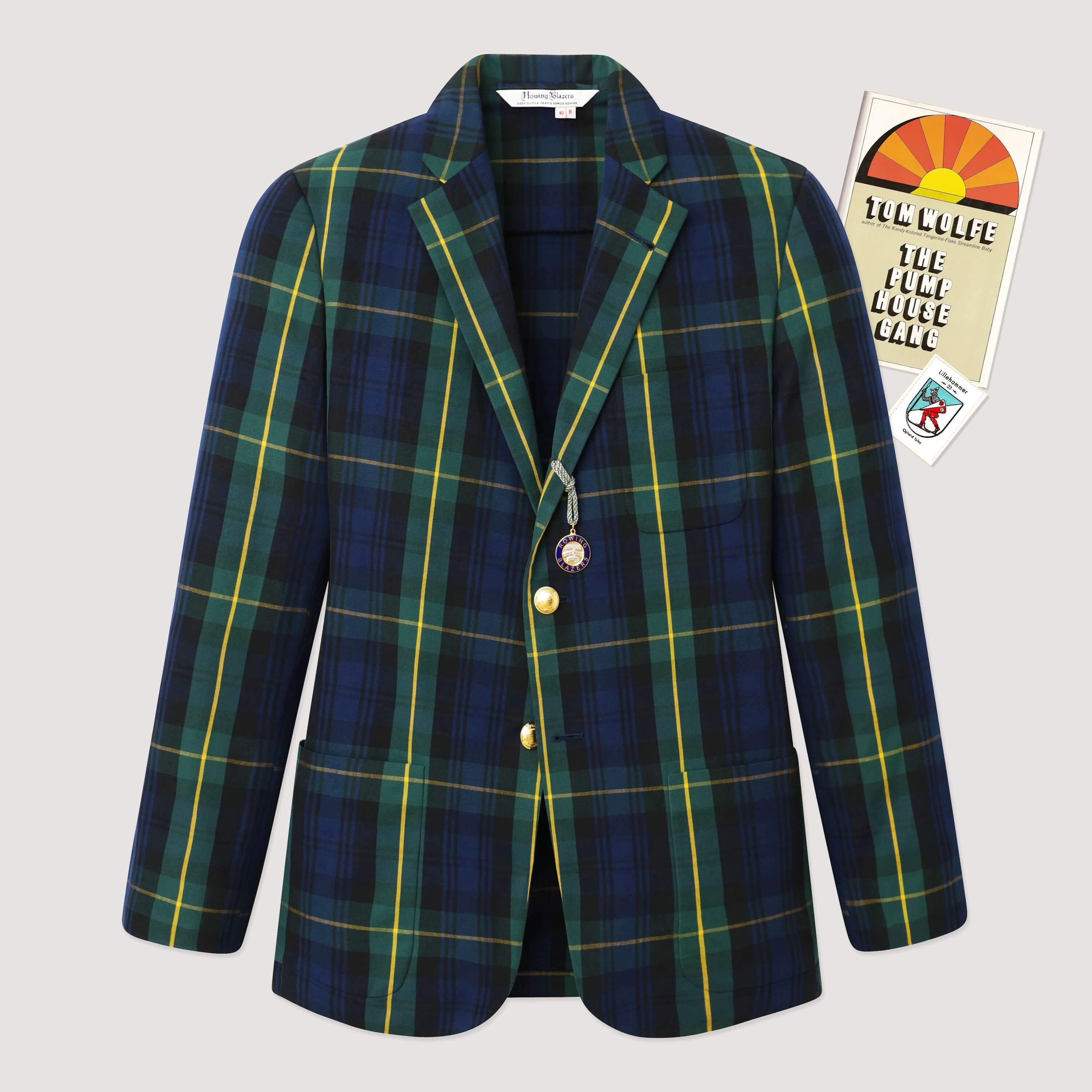 3roll2 singlebreasted jacket (Gordon Modern tartan