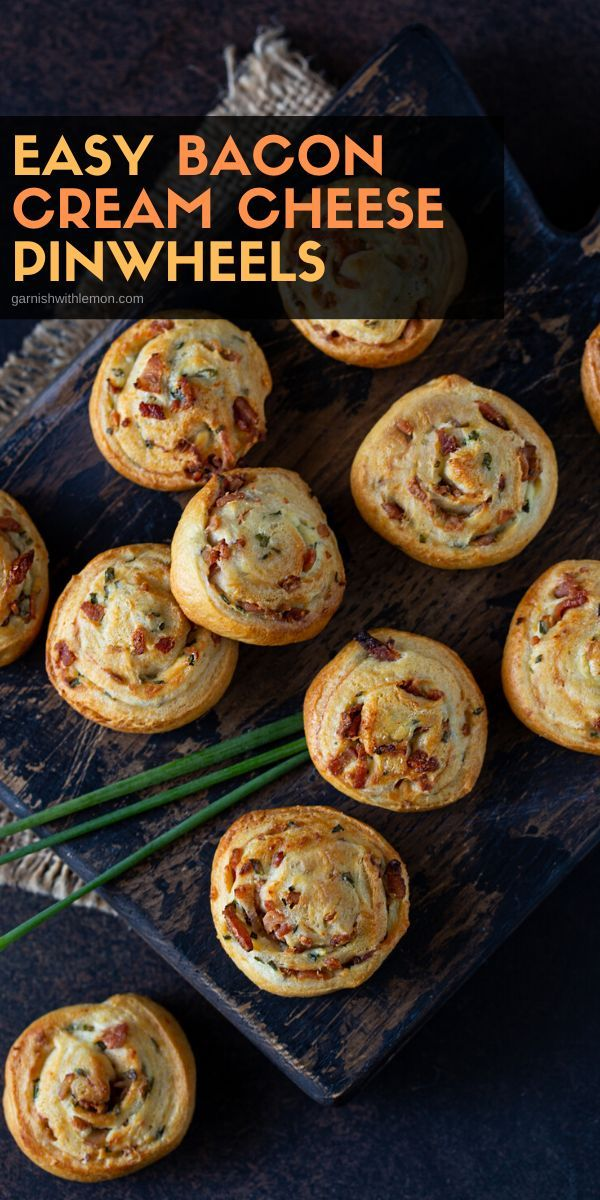 Bacon Cream Cheese Crescent Roll Appetizers Recipe Party food doesn't get much easier than this 4