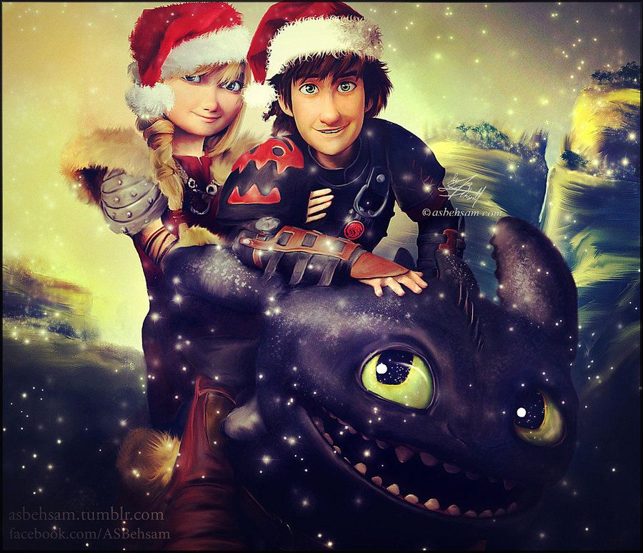 christmas project i how to train your dragon 2 by aty s behsam on deviantart - How To Train Your Dragon Christmas