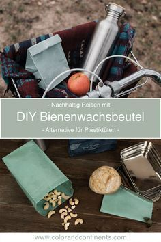 Photo of DIY • Make beeswax bags yourself – Sustainable travel with an alternative to plastic bags