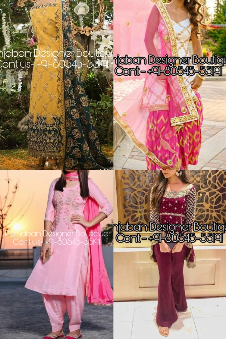 Buy Punjabi Suit For Various Ocassions In India Shop From The Latest Collection Of Women Suits Wedding Salwar Suit Neck Designs Punjabi Suits Online Shopping
