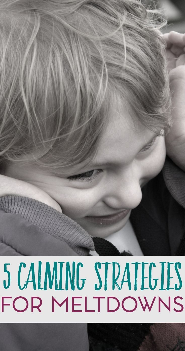 Meltdowns seemingly come with the territory of parenting an autistic child. As parents, we develop methods and strategies to help our children cope. Here are just a few calming strategies that have worked, click through to read and let us know what's worked for you!