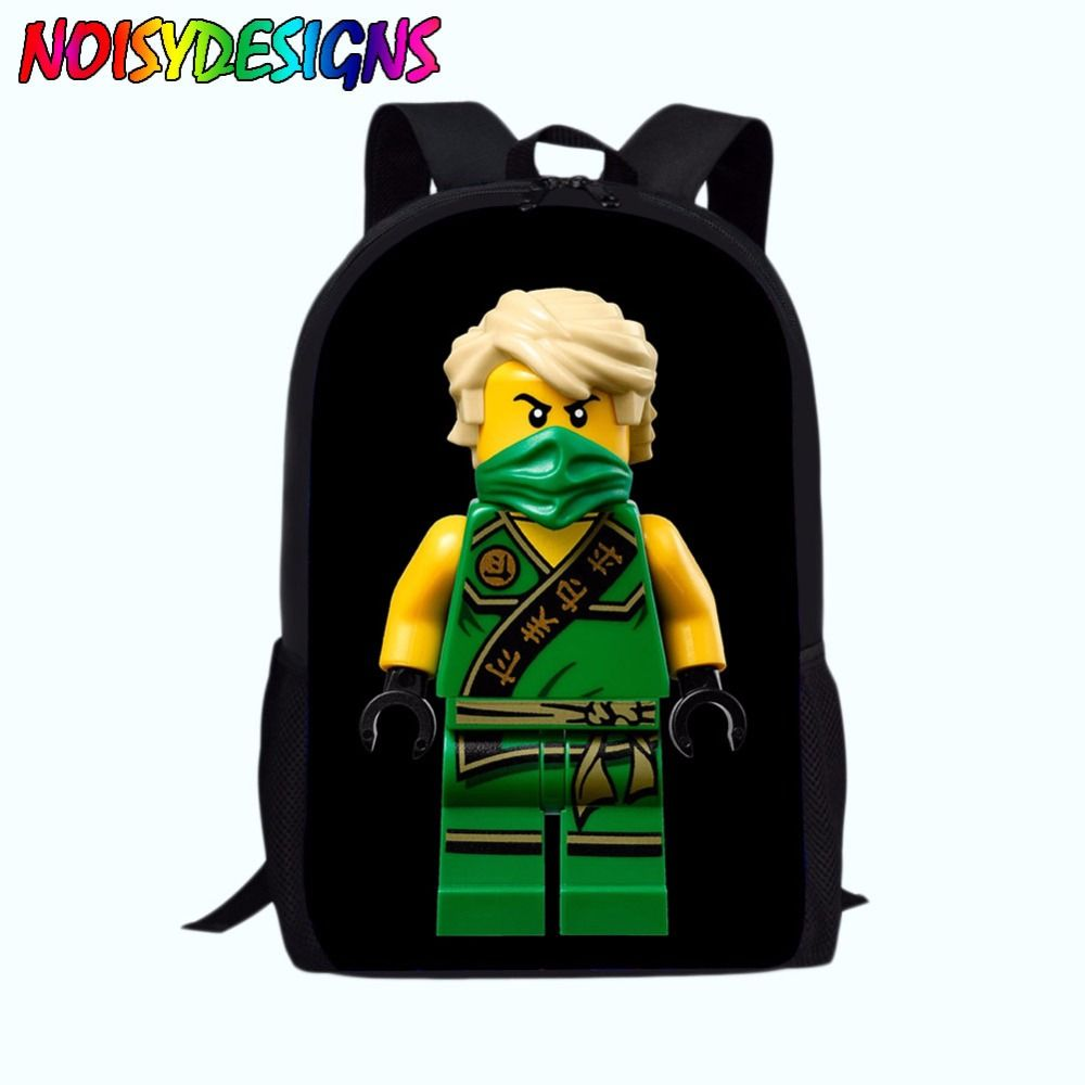 8193336f8a12 Find More Backpacks Information about 16 inch 2018 Newest Ninjago Bag  Children School bags Cartoon Movie