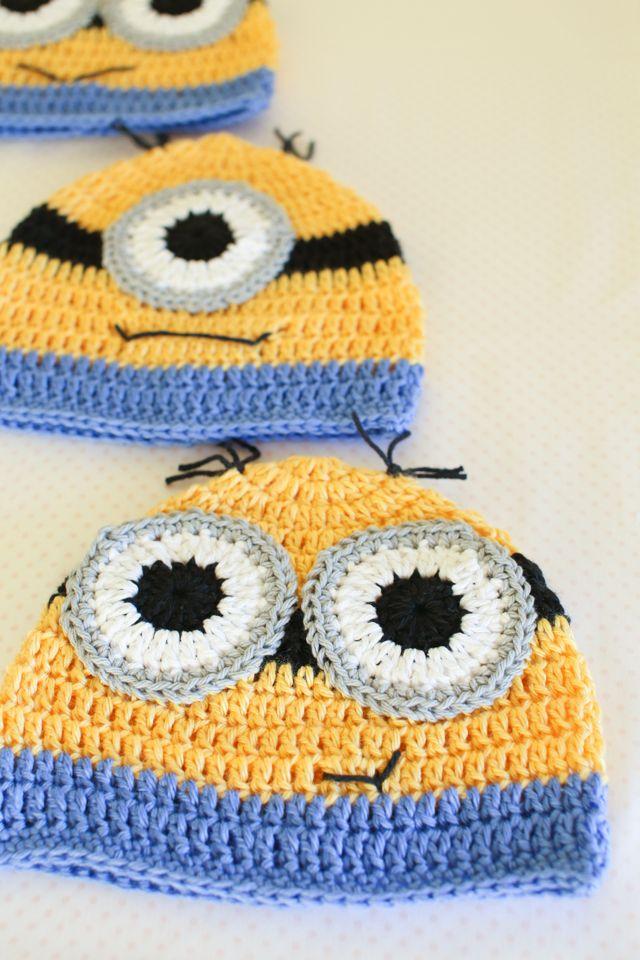 Handmade Minion Hats | A-Hats-Women-Teens | Pinterest | Araña ...