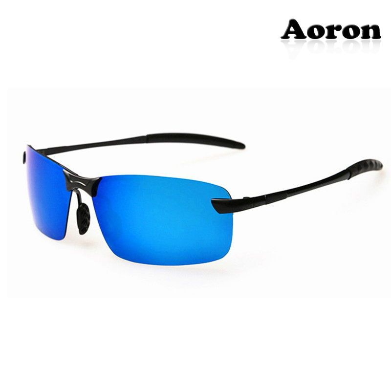 2ea668cd8578 2016 Men's Mirrored Driving Glasses Polarized Aviator Sunglasses Sports  Eyewear #AORON #Aviator