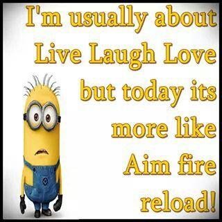 Live Laugh Love Minions Funny Minion Jokes Funny Minion Memes