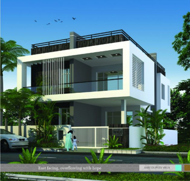 South facing house elevation designs living room for South facing home designs