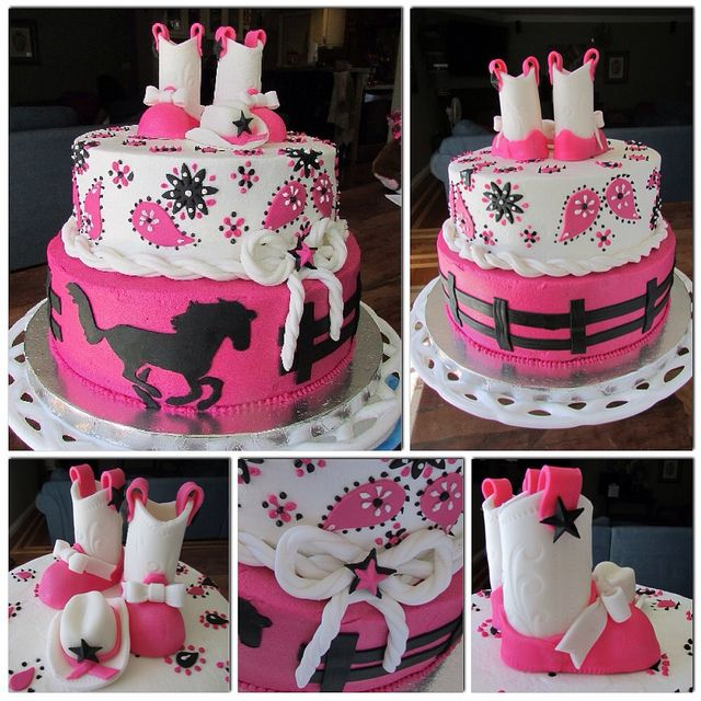 Cowgirl Baby Shower Cakes: Cowgirl Baby Showers, Cowgirl
