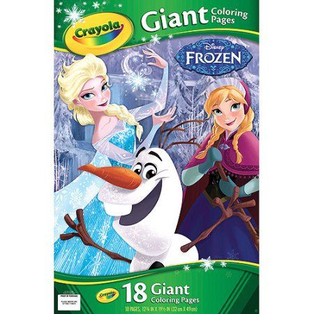 Crayola Giant Coloring Pages, Disney Frozen, Multicolor Products - new giant coloring pages crayola