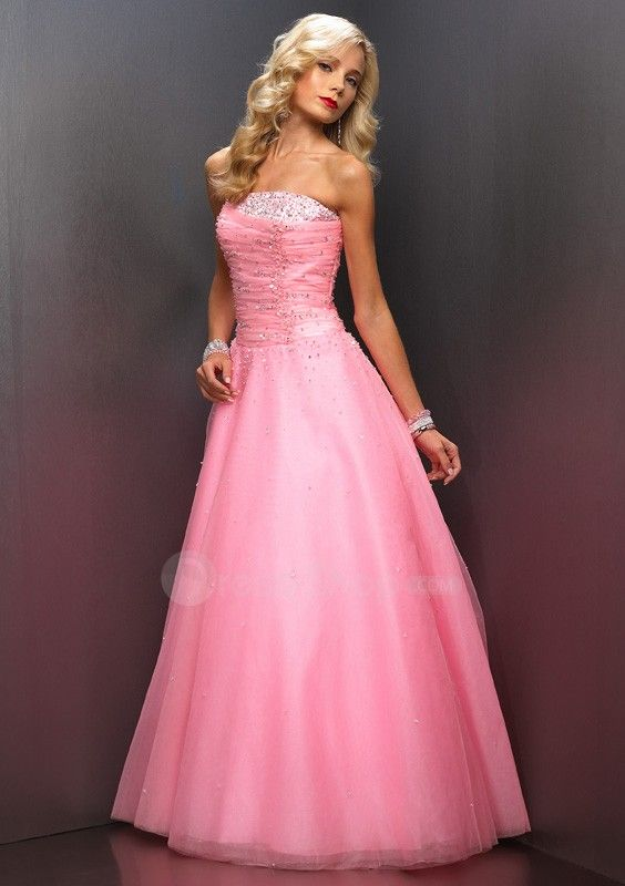 Pink Formal Dresses Photo Album - Reikian