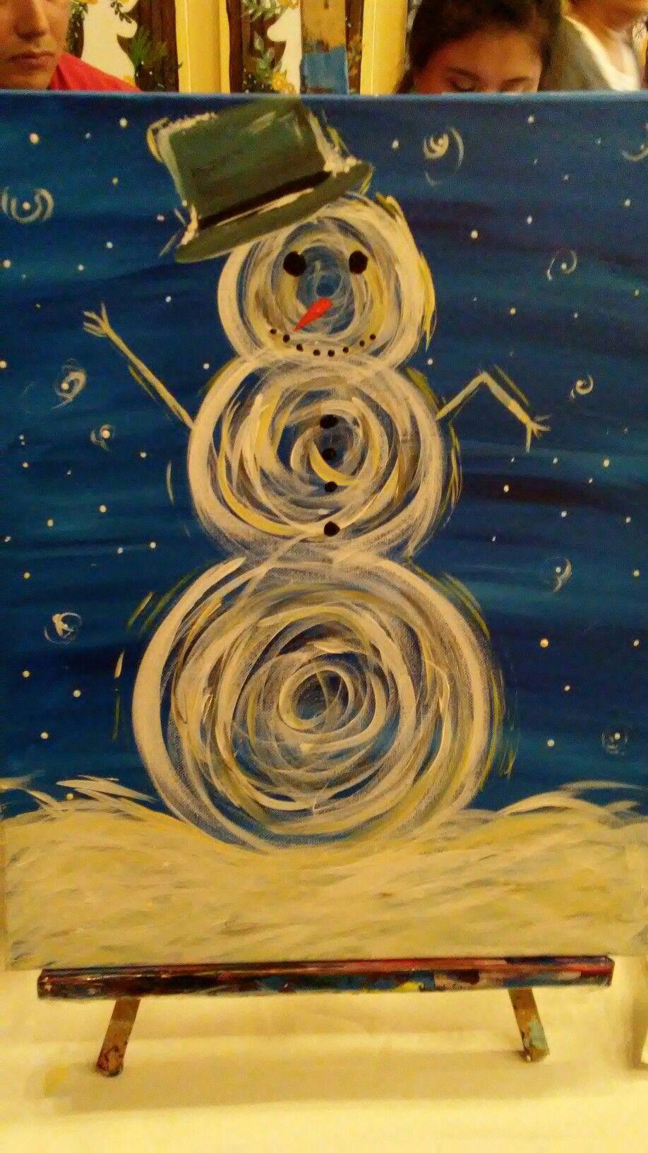 PWAT snowman. 11/25/16