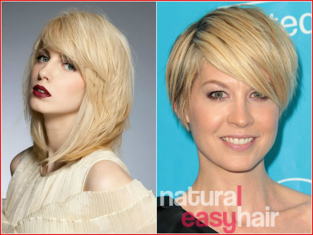 wedge haircut combined with a variety of short to medium