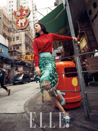 Park Shin Hye for Elle Korea