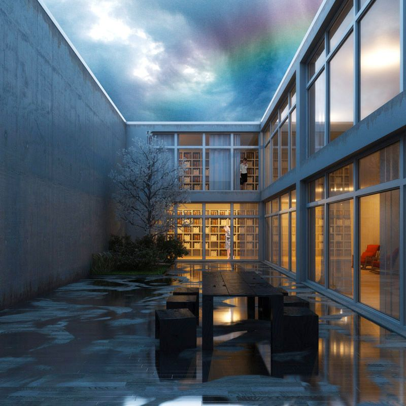 exterior rendering - post rain   : Rainy Day : Exterior Render ...