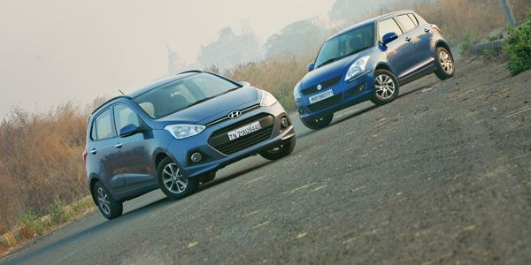Hyundai Grand I10 Vs Maruti Suzuki Swift Comparison Suzuki