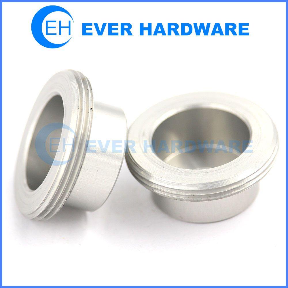 Aluminum Plug Round Threaded Large Fill Flare Plug Kit Draining Hole Plugs Custom Skateboard Hardware Hardware Cnc Parts