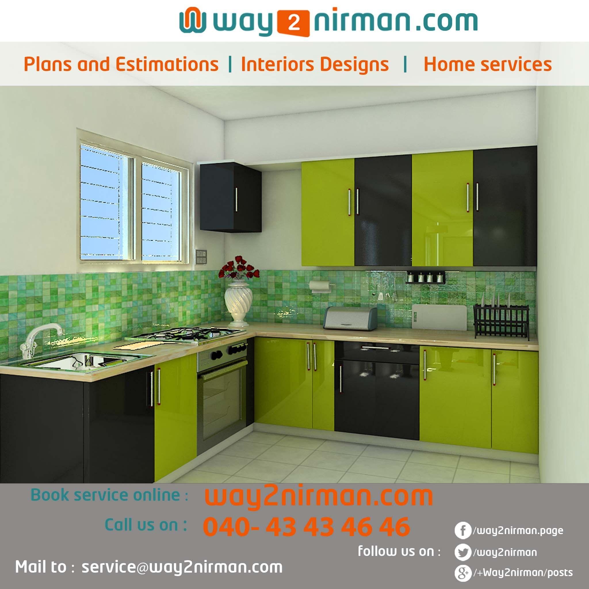 Beautiful Modern Kitchen Design By Way2nirman.com