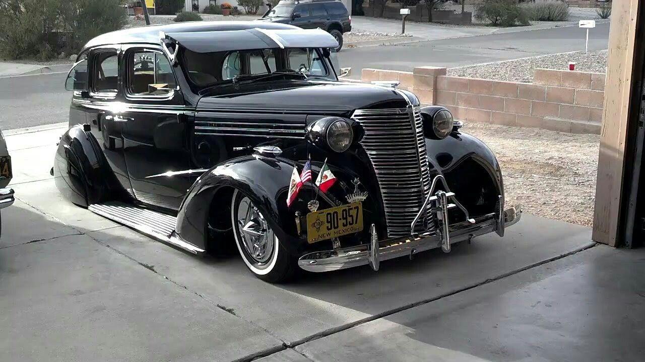 1938 Chevy Master Deluxe 4 Door Sedan Lowriders Custom Cars Custom Cars Slammed