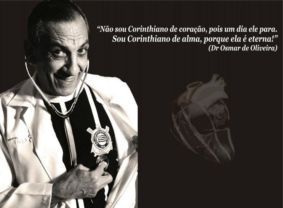 Doutor Osmar Corinthiano, Médico e Comentarista da TV Bandeirantes