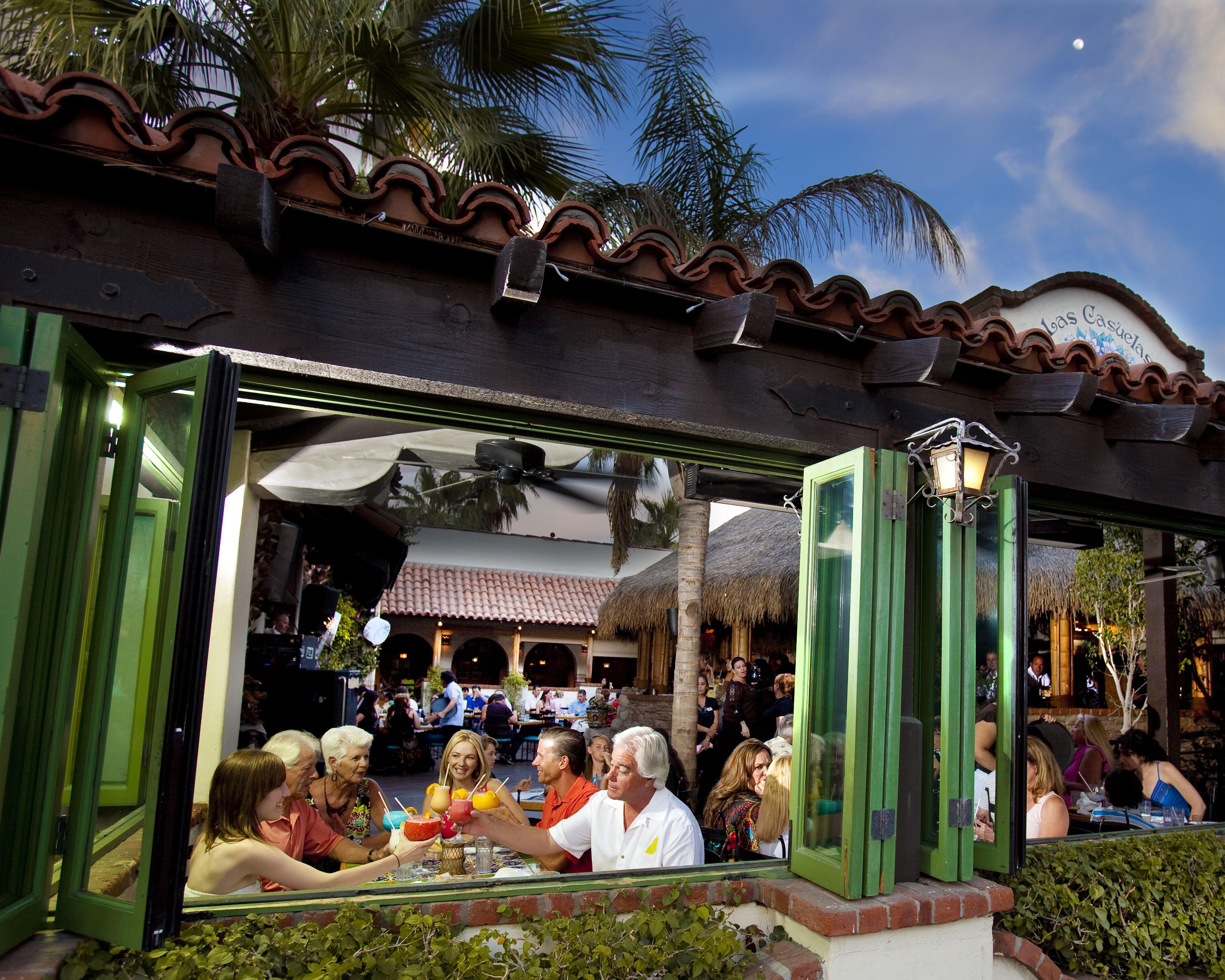Alfresco dining at las casuelas terraza palm springs