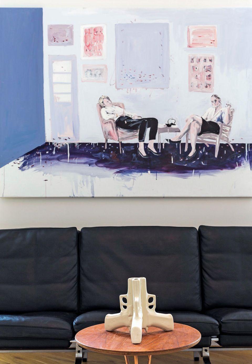 Artist Anne Aars Lands bright apartment in Frederiksberg | Bobedre.dk