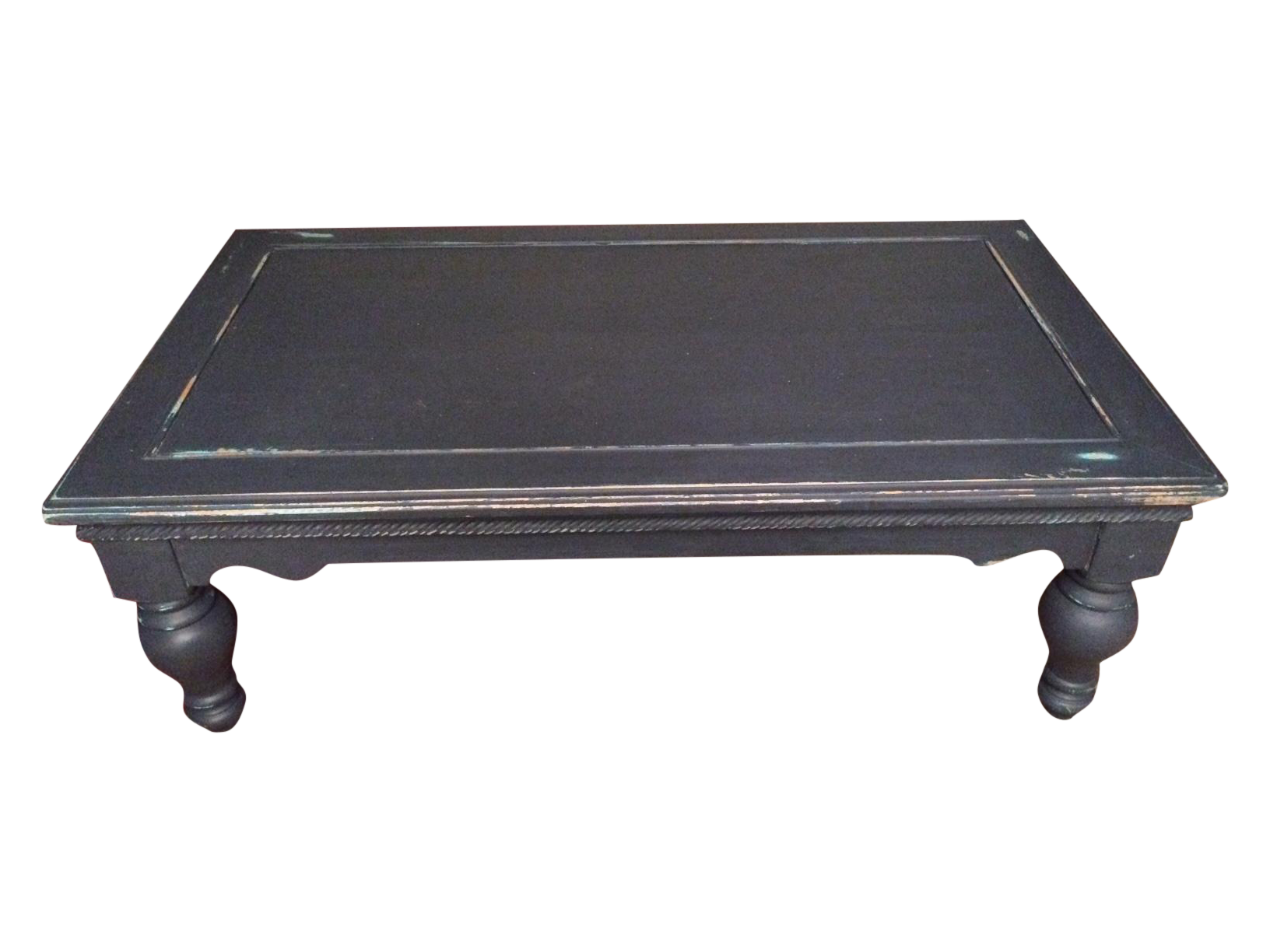 Distressed Blue Shabby Chic Coffee Table Chairish