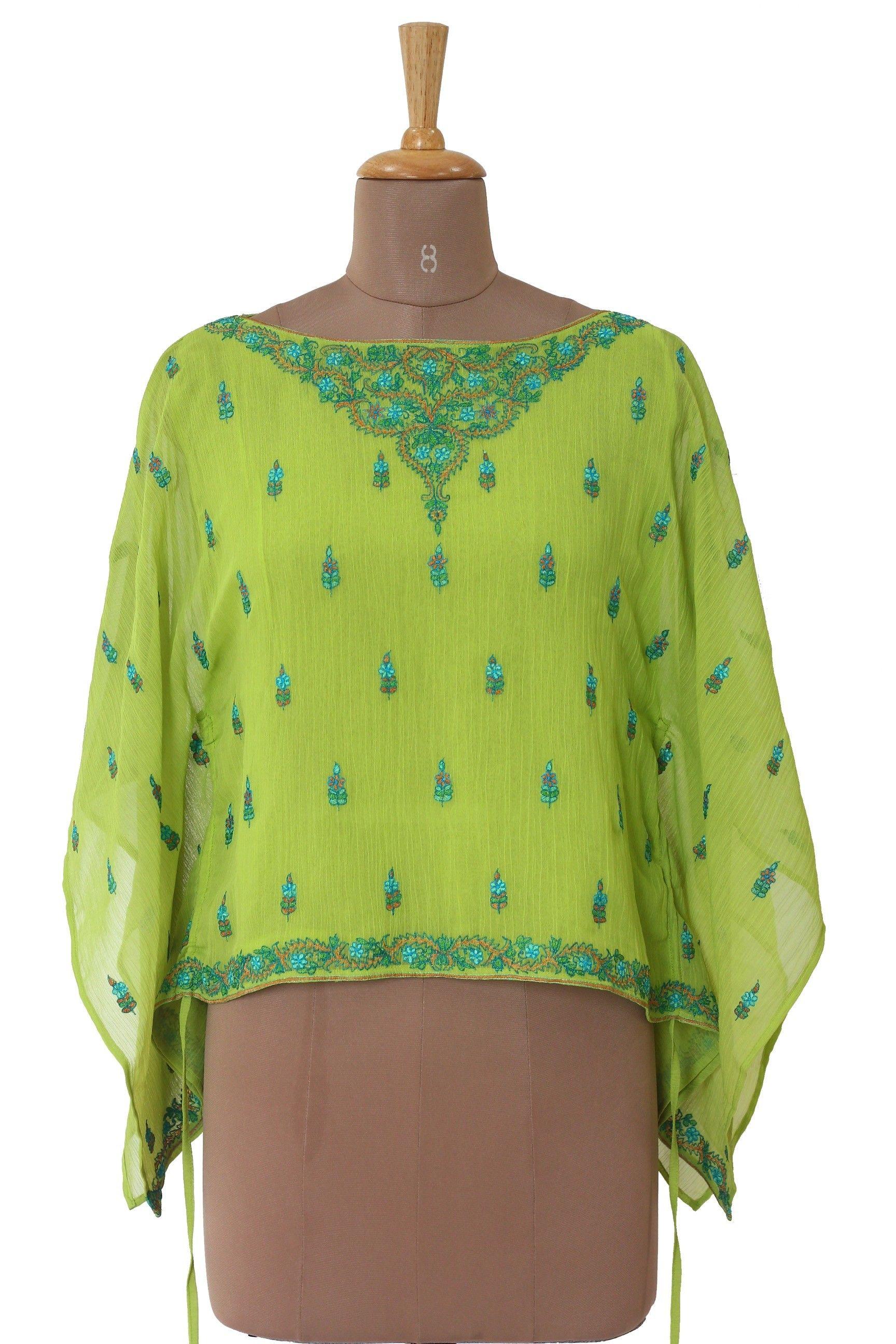 Ritu Kumar Green Top Rs 1,500 (70% Off)