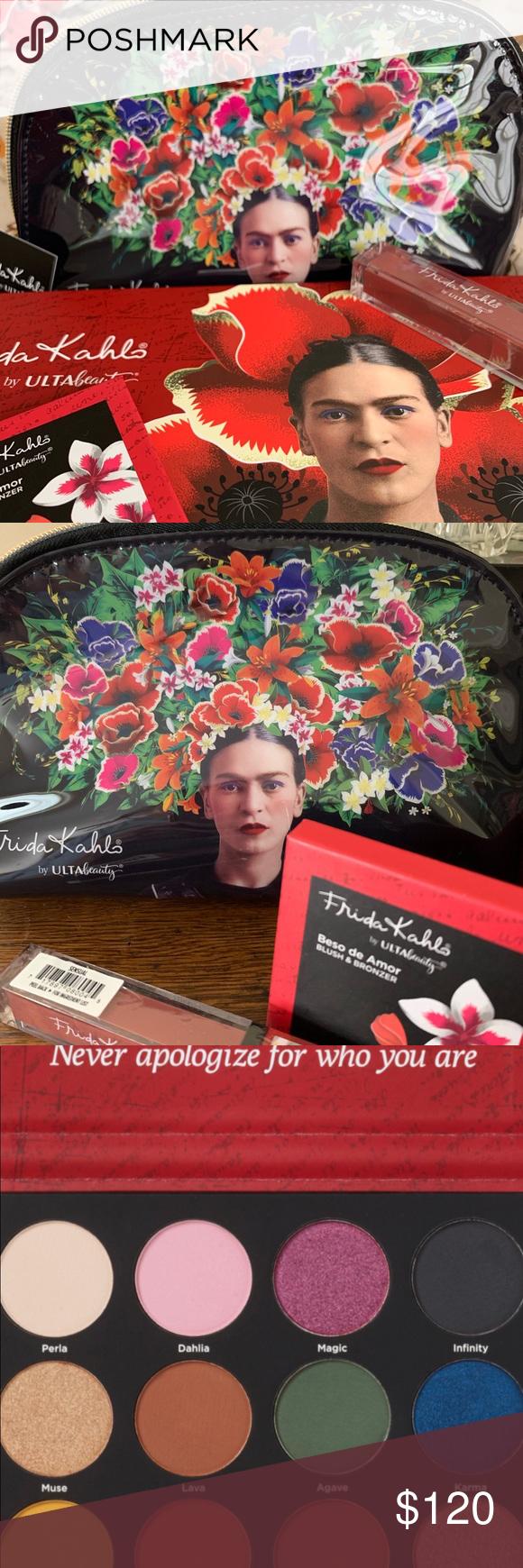 AMAZING Frida Kahlo Art Makeup Collection NEW NWT Makeup