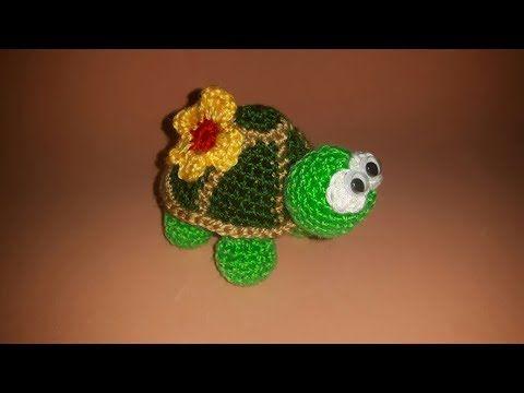 Amigurumi Tortoise Tutorial : Tartaruga uncinetto amigurumi tutorial crochet turtle tortuga