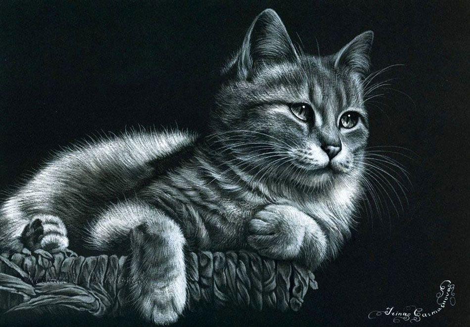 Кошки в живописи. Просто кошки ( фото ). | Записи в ...