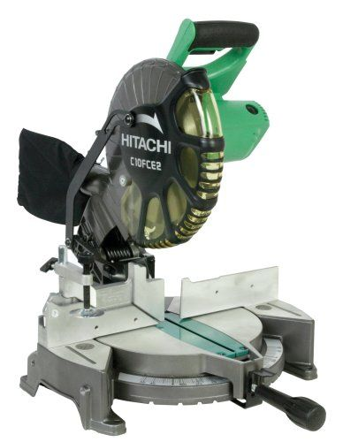 If You Re Into Diy Projects Building Diy Furniture Or Want To Get Into It One Of The Tools You Ll Use Miter Saw Reviews Hitachi Miter Saw 10 Inch Miter Saw
