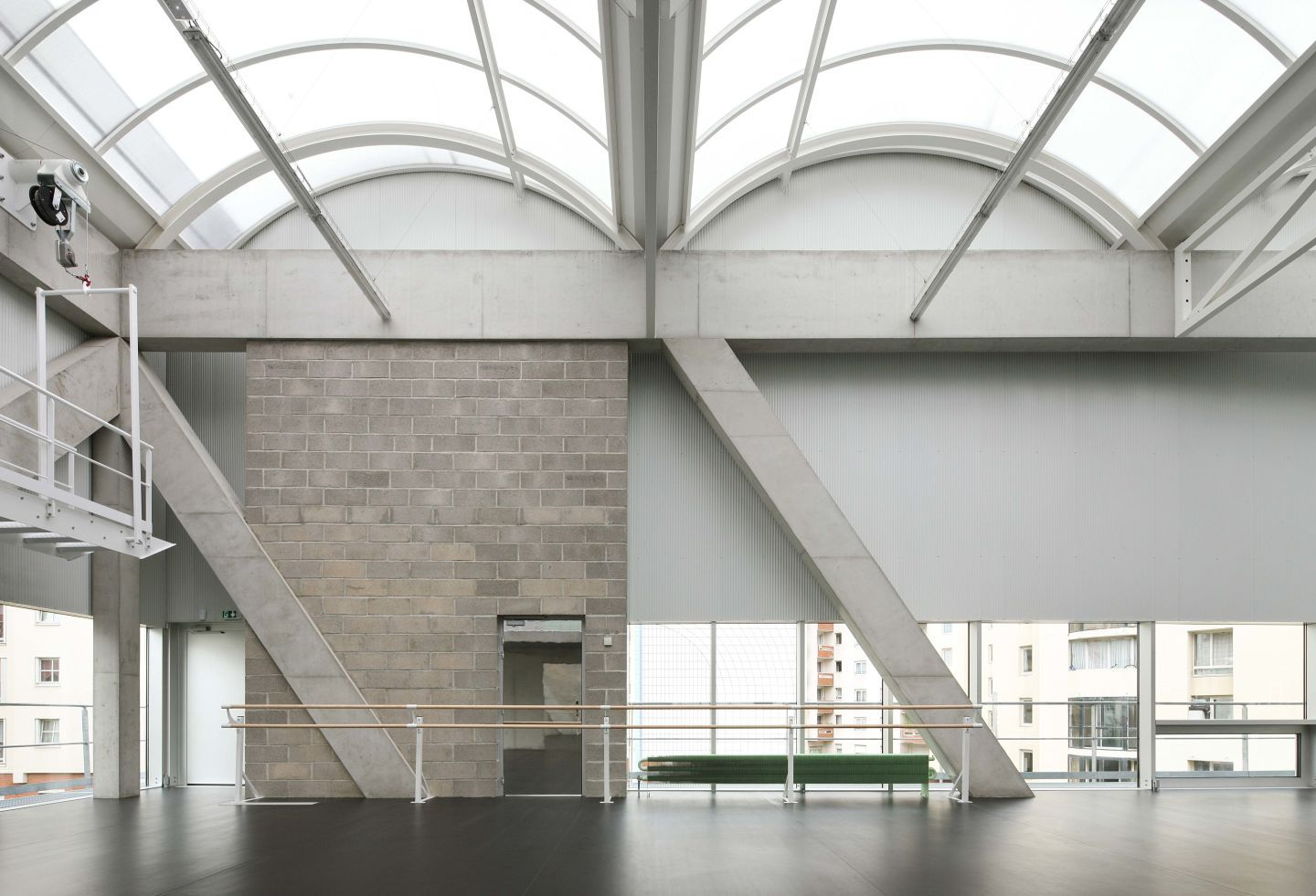 France - paris BRUTHER Cultural and Sports Center