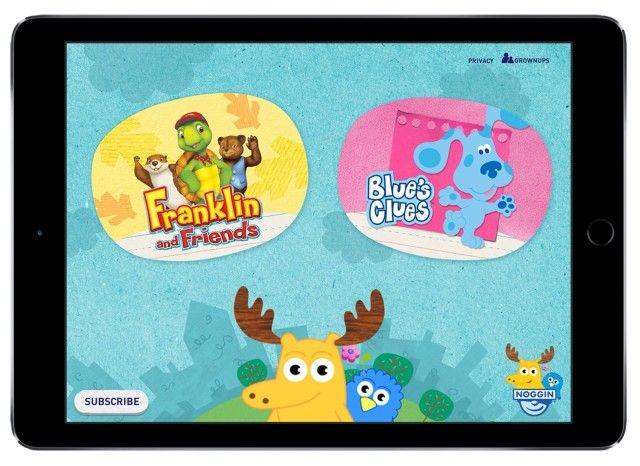 Nickelodeon's new iOS app is a Netflix for preschoolers