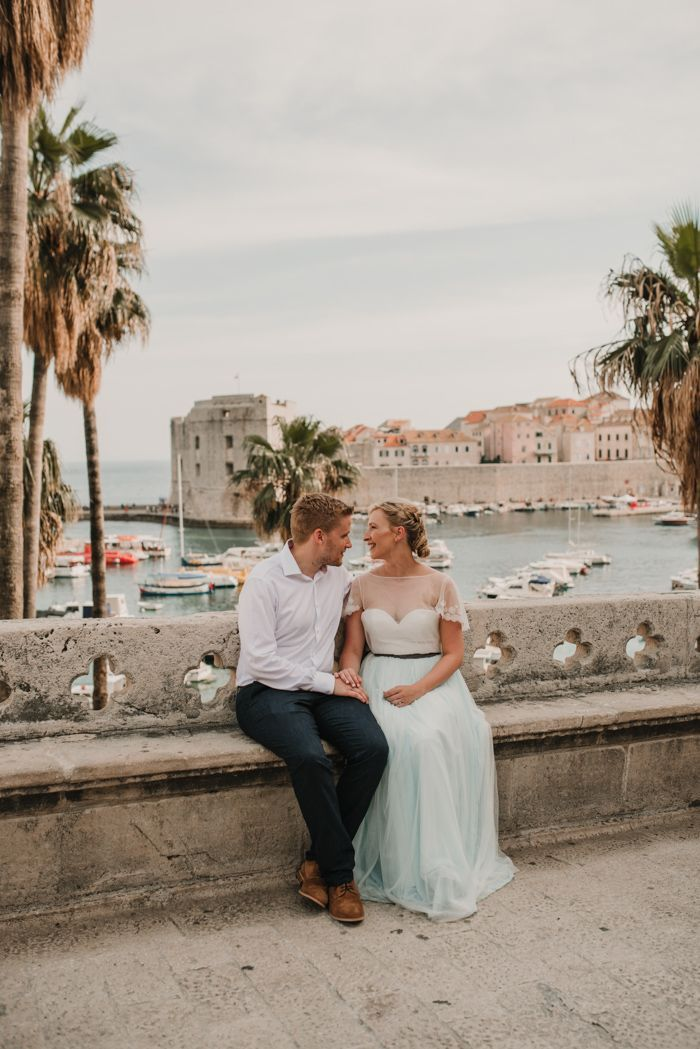 A unique + beautiful place for destination weddings, Croatia is on our list for 2019 | Image byIva & Vedran Weddings