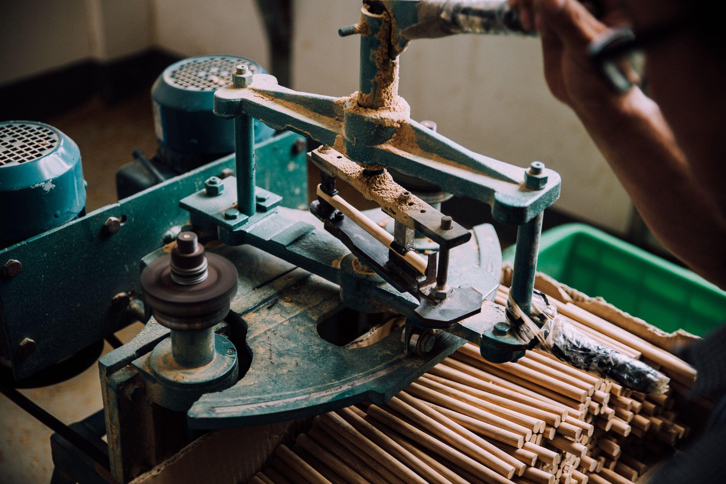 Herstellung Der Hydrophil Zahnburste Aus Bambus In Lishui