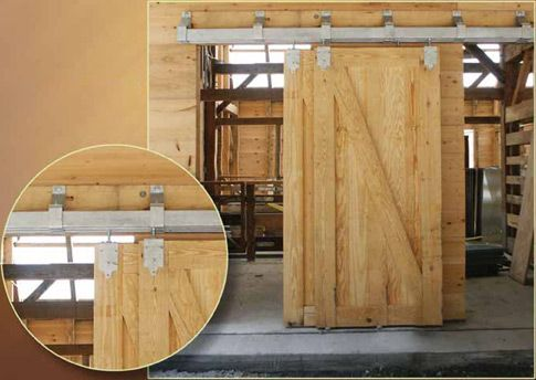 Good Floor Laundry Room Barn Doors, Hardware Will Be In Black And Doors Can Be  White Or Colored.