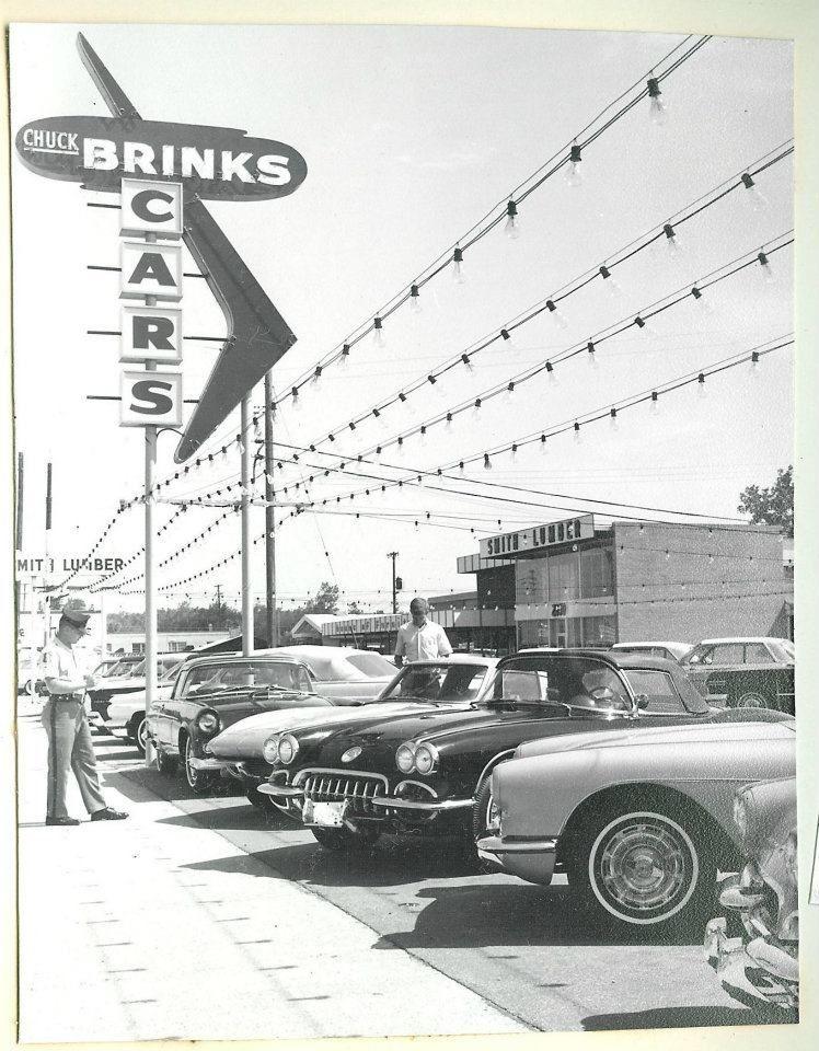 Chuck Brinks Used Cars | Vintage Corvette | Pinterest | Cars ...