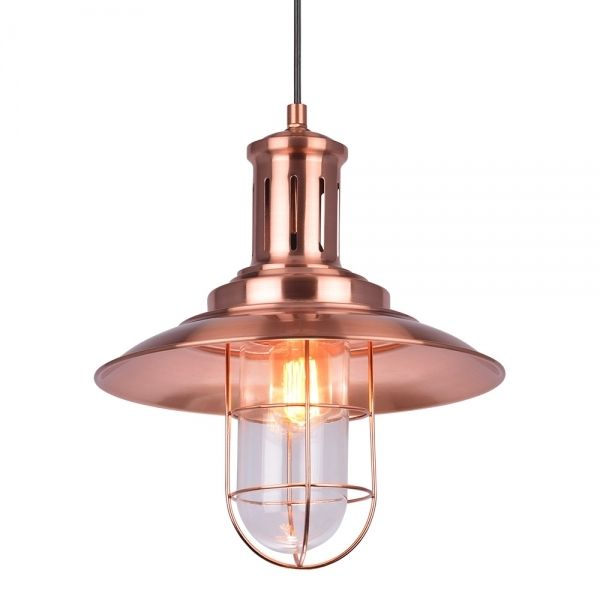 cult living nebula metal caged pendant light copper pendant