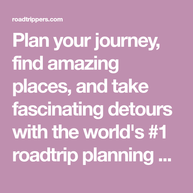 Roadtrippers Plan Your Journey Find Amazing Places And Take >> Welcome To Small House Plans Small House Plans House Plans How