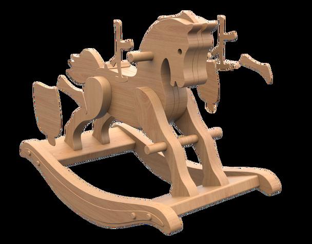 Antique 1890 Rocking Horse Wood Toy Plans Pdf Download In 2020 Wooden Rocking Horse Wooden Rocking Horse Plans Rocking Horse