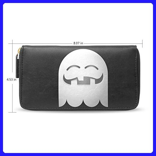 clutch leather long wallethalloween pumpkin emojicard holder purse bag h20 wallets