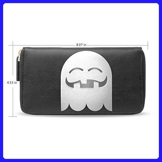 clutch leather long wallethalloween pumpkin emojicard holder purse bag h20 wallets
