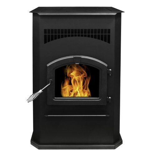 Pleasant Hearth Cabinet Style 50000 Btu S Pellet Stove With 120