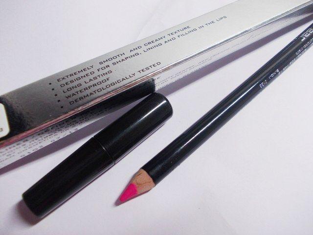 colorbar, definer, lip liner, summer pink, soft, smooth, blue based hot pink, lightweight, cool toned,