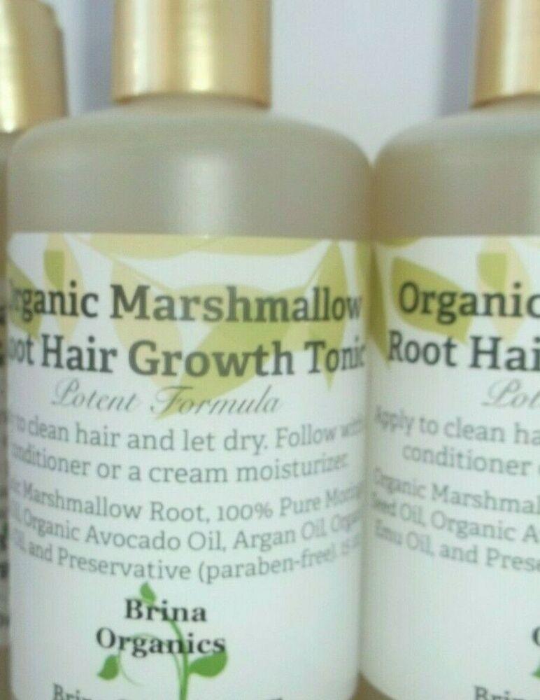 Vitamins for Hair Growth} and Organic Marshmallow Root Hair Growth Tonic, Potent Formula, Brina Organics #BrinaOrgancs