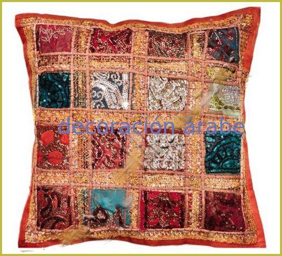 Cojines indios diferentes colores decoraci n rabe oj nes originales de dise o indio de - Cojines indios ...